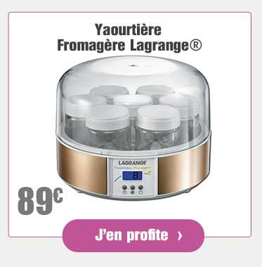 Yaourtière Fromagère Lagrange®