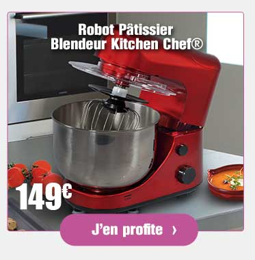 Robot Pâtissier Blendeur Kitchen Chef®