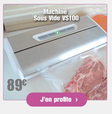 Machine Sous Vide VS100