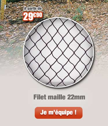 Filet maille 22mm