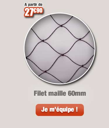 Filet maille 60mm