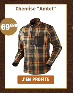 Chemise Amlet shadow brown