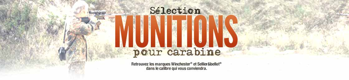 La sélection munitions