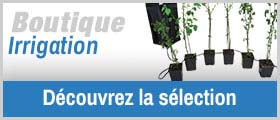 La Boutique irrigation
