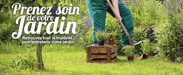 Prenez soin de votre jardin