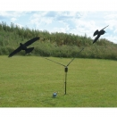 Manège à corbeaux électrique