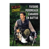 DVD : Faisans Perdreaux Canards en Battue