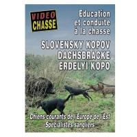 DVD : Slovensky kopov dachsbracke erdelyi kopo