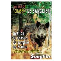 DVD Le sanglier : gestion et chasse du sanglier en France