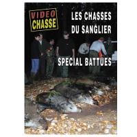 DVD : Les chasses du sanglier : spécial battues