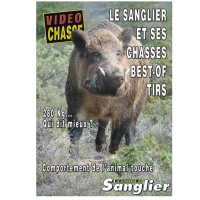 DVD : Le sanglier et ses chasses : Best-of Tirs