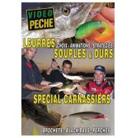 DVD : Leurres souples & durs spécials carnassier : Brochets - Black-bass - Perches