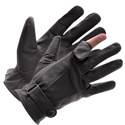 Gants Chasse Cuir taille L