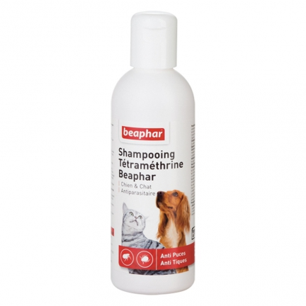 Shampoing anti-puces et tiques 200mL
