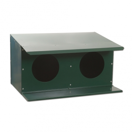 Pigeonnier ext�rieur 2 places  thermolaq. vert
