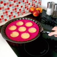 Moule Silicone 7 Pancakes