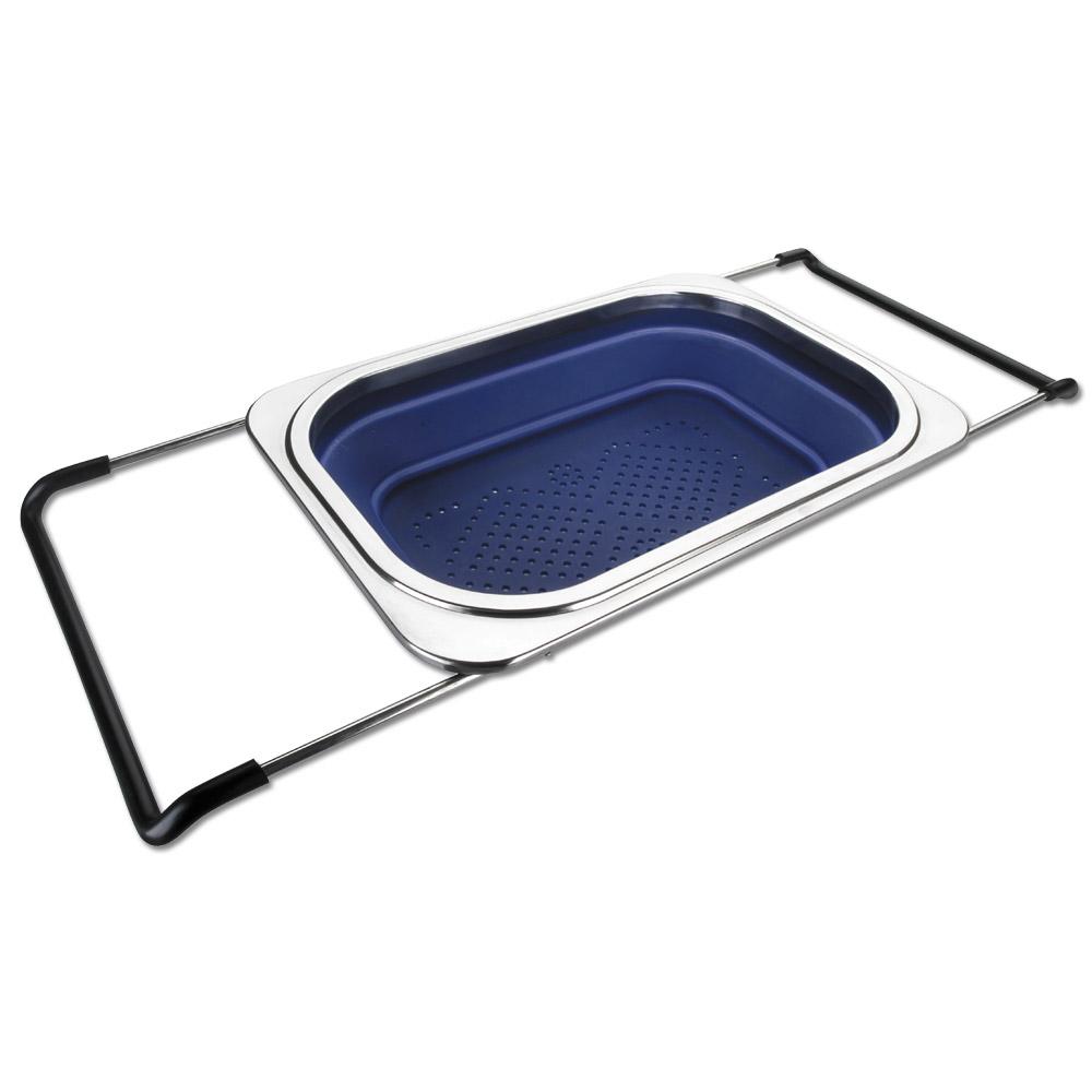passoire extensible pour l 39 evier en silicone achat vente d 39 ustensiles de cuisine. Black Bedroom Furniture Sets. Home Design Ideas