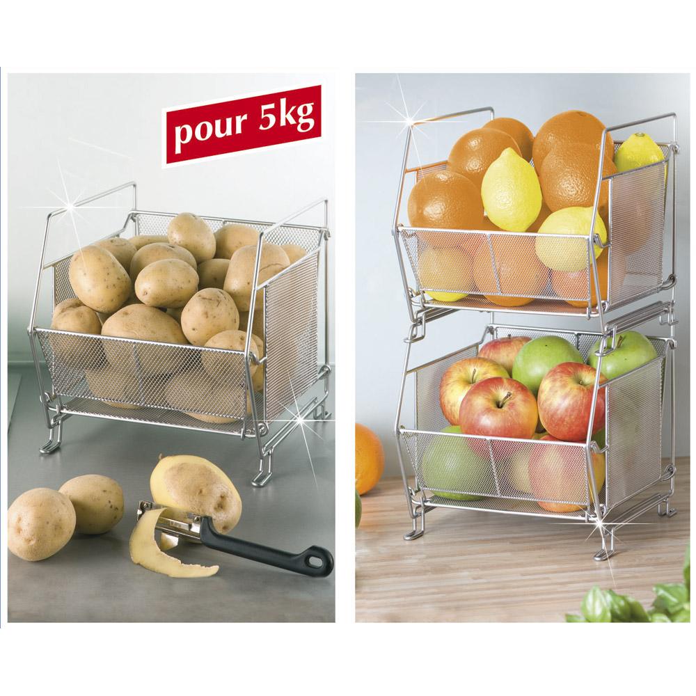 Panier de cuisine empilable achat vente d 39 accessoires for Achat accessoire cuisine