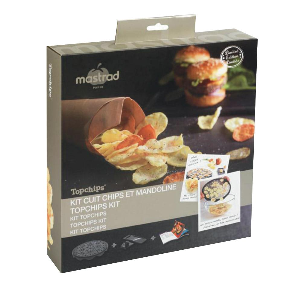 Coffret cuit chips mastrad achat vente de mat riel de for Achat materiel de cuisine