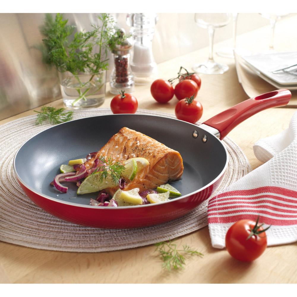 Po le c ramique elicuisine 24 cm achat vente d for Poele cuisine ceramique