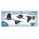 Pack 100 cartouche super grand passage pb 6