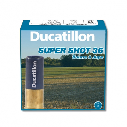 25 Cartouches SUPERSHOT Cal.12/70 36 Gr.Pb.2