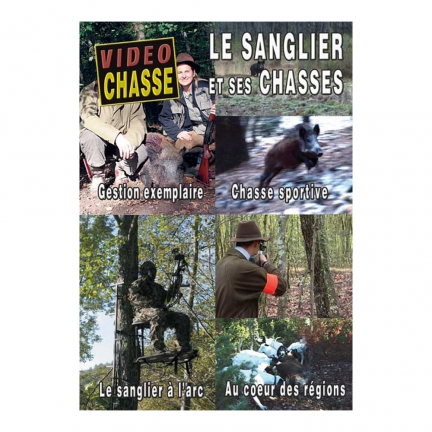 DVD : Sanglier:chasse sportive,gestion,arc