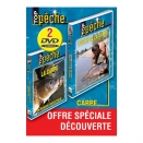 Lot de 2 DVD : Pêche de la carpe
