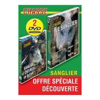 Lot de 2 DVD : Chasse du sanglier