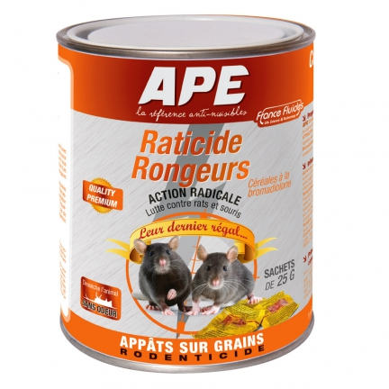 Raticide/souricide appât sur grain sachet 500g