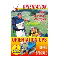 Lot de 2 DVD :Orientation:cartographie et GPS