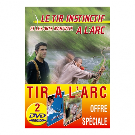 Lot de 2 DVD : Tir à l'arc : initiation