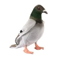 Peluche pigeon voyageur