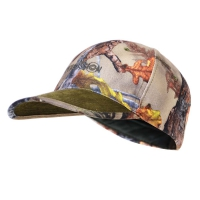 Casquette base ball Percussion® GhostCamo forest