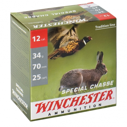 450 Cart. Spécial Chasse 12/70 34g NICKEL N5