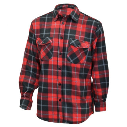 chemise canadienne trappeur rouge taille M