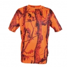 Tee-shirt Orange et Ghost Camo Blaze&black