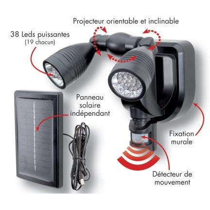 jardin ducatillon belgique projecteur solaire avec. Black Bedroom Furniture Sets. Home Design Ideas