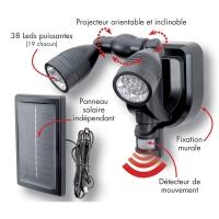 Projecteur Solaire avec Détecteur Mouvement