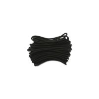 Corde élastique noire Diam. 2.5mm   bobine de 10 m