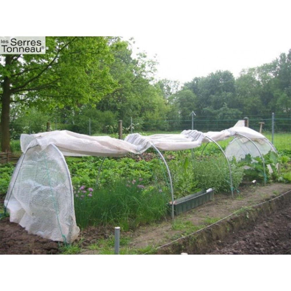 Ducatillon serre la chenille de jardin tonneau larg 1 - Serre de jardin fabrication artisanale ...