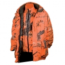 Veste d'hiver camo orange fire 3 en 1