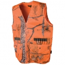 Gilet de traque camo orange