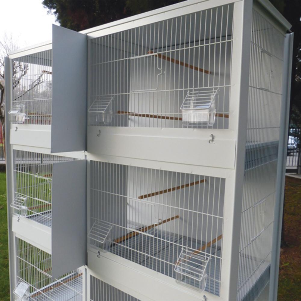 ducatillon batterie d 39 levage 8 cages elevage. Black Bedroom Furniture Sets. Home Design Ideas