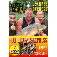 Lot 2 DVD: pêche carpe rapide