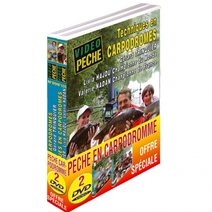 Lot 2 DVD: pêche en carpodrome
