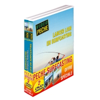 Lot 2 DVD: pêche en surfcasting
