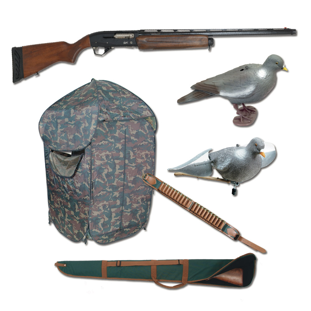 ducatillon offre sp ciale kit pigeon pour fusil mp 155. Black Bedroom Furniture Sets. Home Design Ideas
