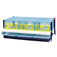 Cage cailles pondeuses étage supplémentaire