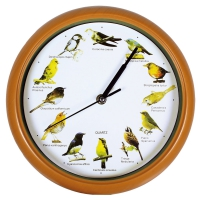 Horloge Sonore Oiseaux